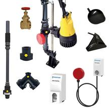Plumbing accessories - Submersible Sump Pumps - Building Services ...